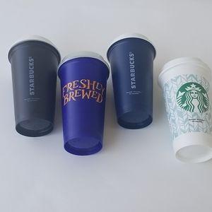 Starbucks reusable hot drink cups